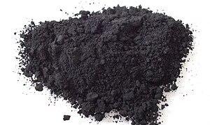 English: Carbon black Deutsch: Pigmentruß