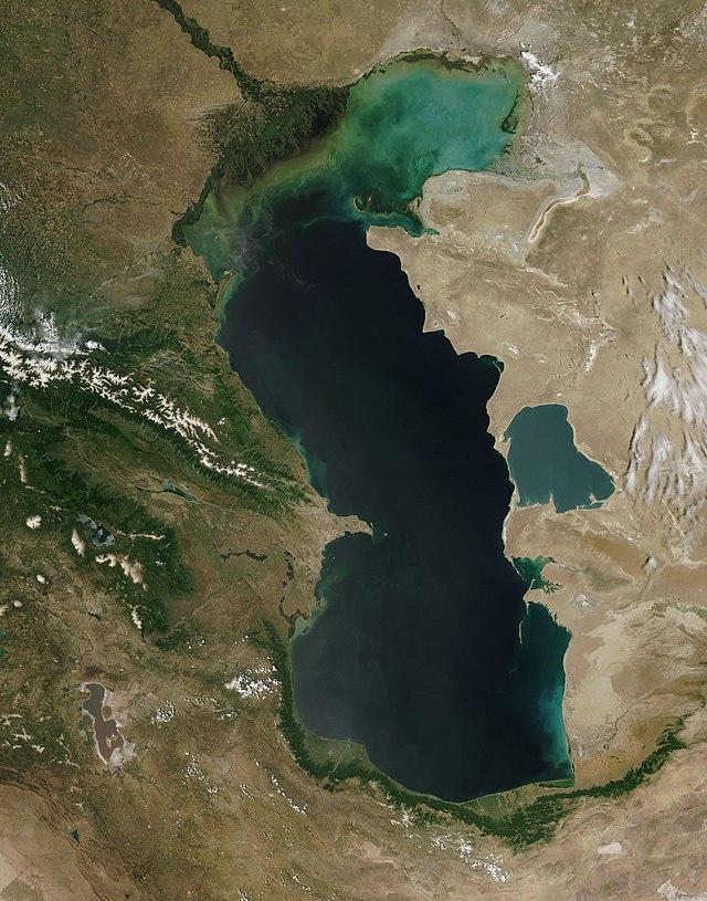 Caspian Se, NASA Satelittle Image.jpg