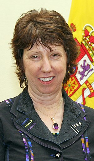 English: Catherine Ashton, British politician