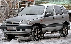 Chevrolet Niva in Arkhangelsk, Russia