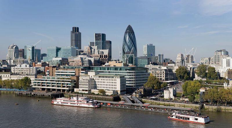 London's Financial Trade Centre, The City