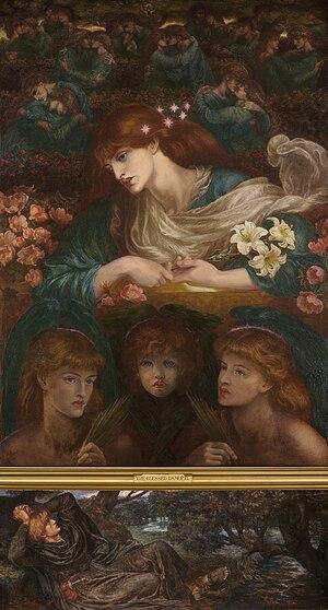 Dante Gabriel Rossetti The Blessed Damozel.jpg