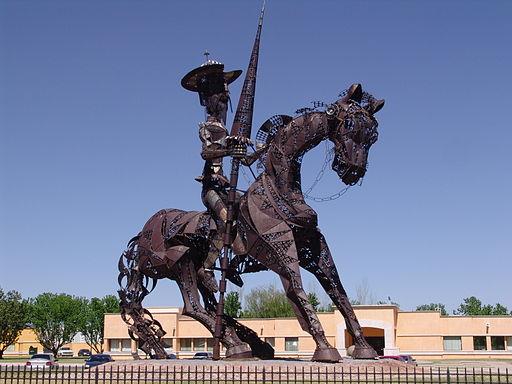 Don Quijote de la Mancha monumento