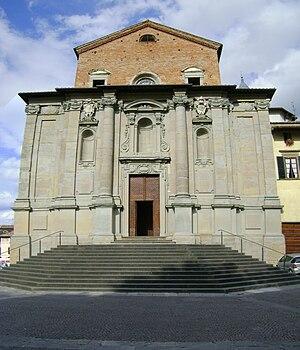 English: The cathedral of Città di Castello, i...