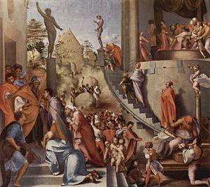 Jacopo Pontormo Joseph in Egypt, 1515-18; Oil ...