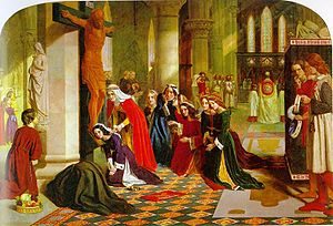 """The Renunciation of St. Elizabeth of Hun..."