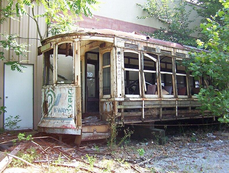 File:MATA trolley unrestored Memphis TN 4.jpg