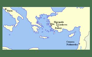 English: Map of Epistle to Colossians Polski: ...