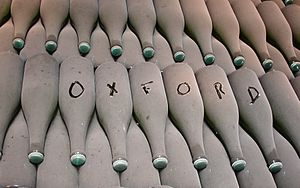 Oxford Winning team - wine cellar Pol Roger