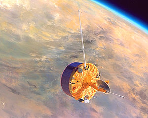 Artist's conception of the Pioneer Venus space...
