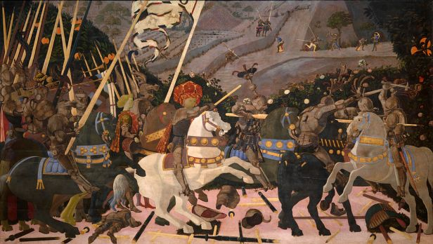 San Romano Battle (Paolo Uccello, London) 01
