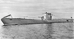 German U-boat U-25.