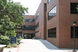 Weimer Hall, home of University of Florida Col...