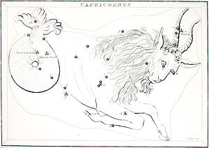 Zodiacal Constellation Capricornus