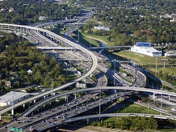 Took this awesome pic of i-10 and i-45 right a...