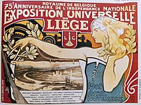 Official poster for the Exposition Universelle...
