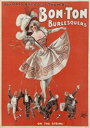 """""""Bon Ton Burlesquers - 365 days ahead of ..."""