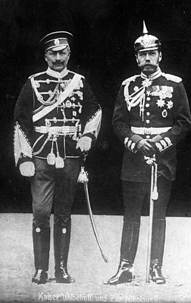 File:Bundesarchiv Bild 183-R43302, Kaiser Wilhelm II. und Zar Nikolaus II..jpg