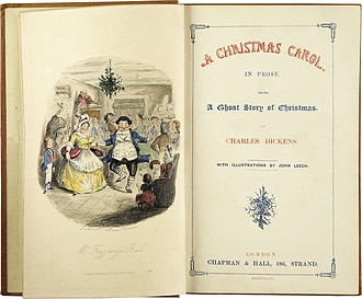 Charles Dickens-A Christmas Carol-Title page-First edition 1843.jpg