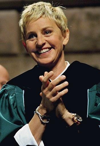 English: Ellen DeGeneres in 2009.