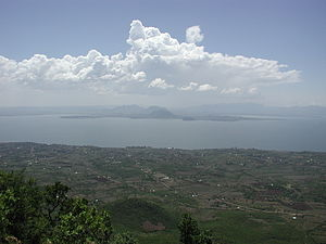 Homa Bay, on Winam Gulf, Lake Victoria, Kenya;...