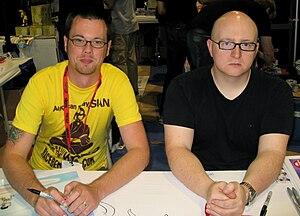 Mike Krahulik and Jerry Holkins, creators of P...