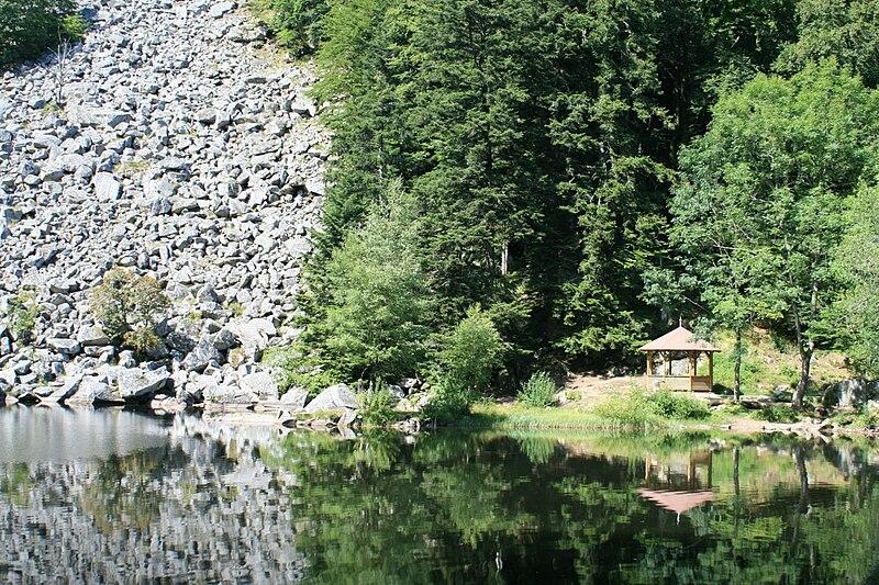 Géocaches de la Worma, lac de Fischboedle