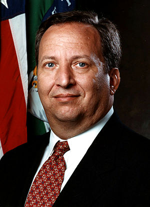 White House portrait of Lawrence Summers.