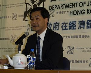 en: Mr Leung Chun Ying, Convenor of non-offici...
