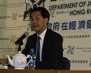 en: Mr Leung Chun Ying, Convenor of non-offici...