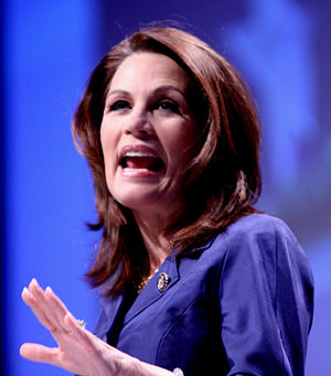 Bachmann speaking at CPAC in Washington D.C. on February 11, 2011.