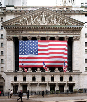 New York Stock Exchange on Wall Street in New ...