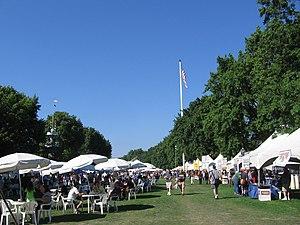 English: The Oregon Brewers Festival, an annua...