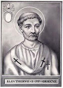 sveti Elevterij - papež in mučenec