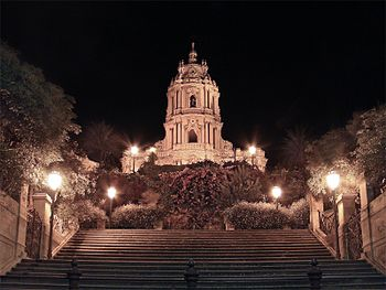 English: Cathedral of San Giorgio, Modica, Sic...