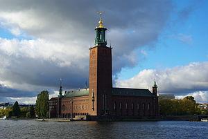 English: Stadshus Stockholm