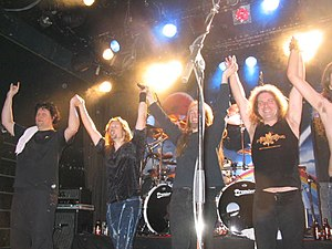 English: Stratovarius and Sentiment in Tavasti...