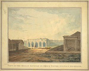 View of the Hoally Gateway, where Tipu Sultan_...