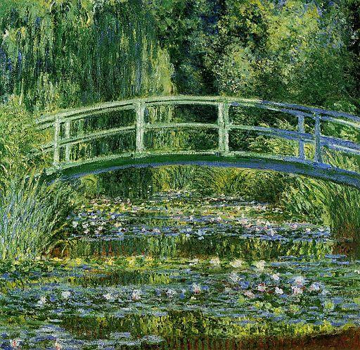 Water-Lilies-and-Japanese-Bridge-(1897-1899)-Monet