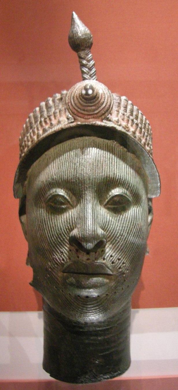 Arte yoruba, nigeria, testa da ife, 12-15mo secolo