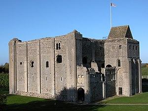 English: Castle Rising Castle. By William M. C...