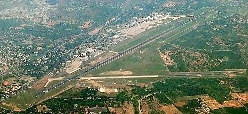 aerial view of chennai international airport anna international terminal and kamaraj domestic terminal