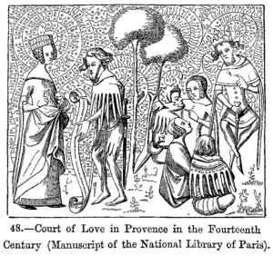 Court of Love in Provence in the Fourteenth Ce...
