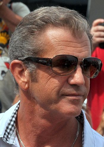 Mel Gibson at the cannes film festival
