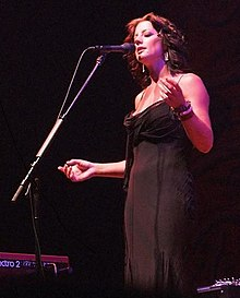 Sarah McLachlan performing at John Labatt Centre, London, Ontario, Canada during the 2005 Afterglow tour.