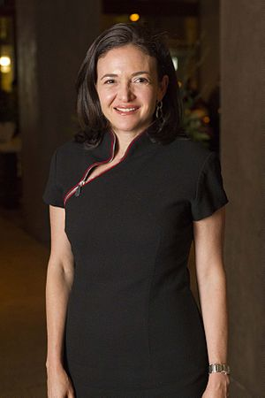 Sheryl Sandberg at the Moët Hennessy Financial...