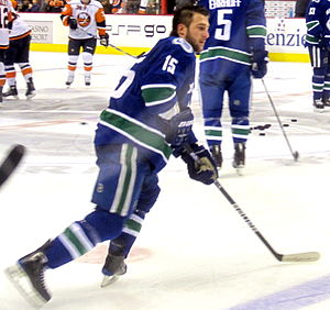 Vancouver Canucks forward Tanner Glass during ...