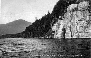 Whiteface Mountain, Lake Placid.