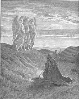 012.Abraham and the Three Angels