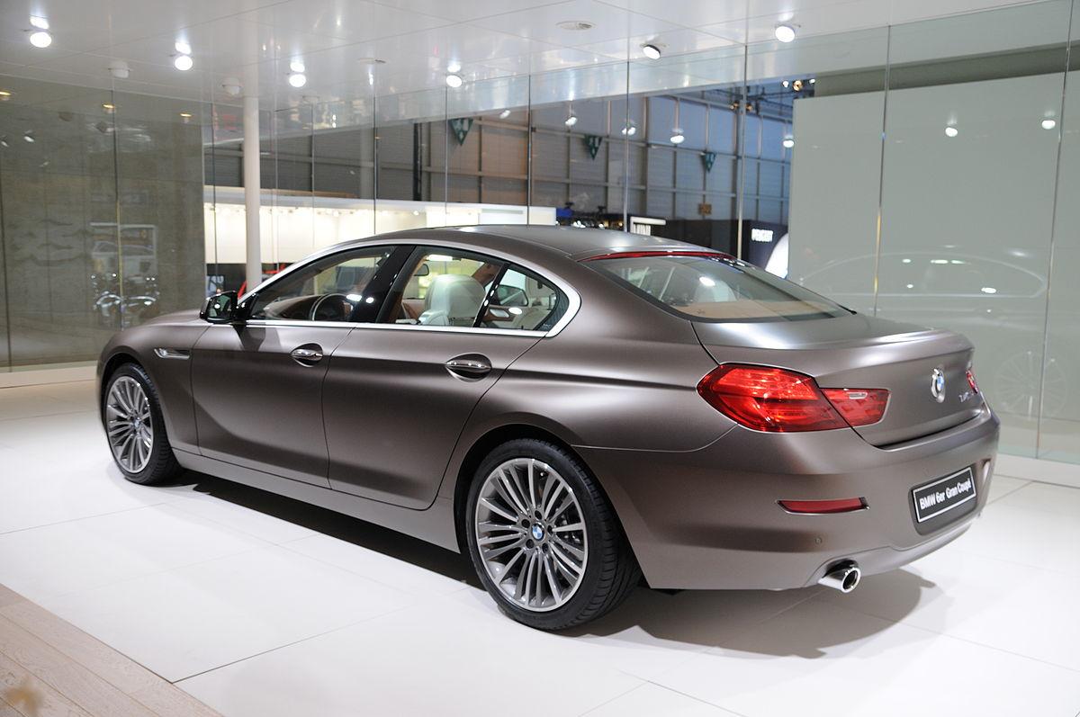 BMW Serie 6 Gran Coup Wikipedia
